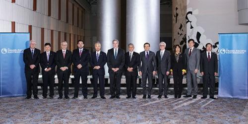 Đại diện các nước tham gia đàm phán TPP tại Mỹ.