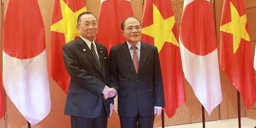 Mong muốn Quốc hội Việt - Nhật tăng cường hợp tác tạo thành sức mạnh