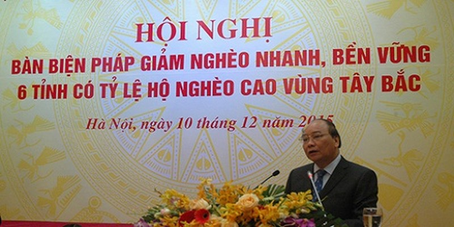 Bàn biện pháp giảm nghèo nhanh, bền vững 6 tỉnh vùng Tây Bắc