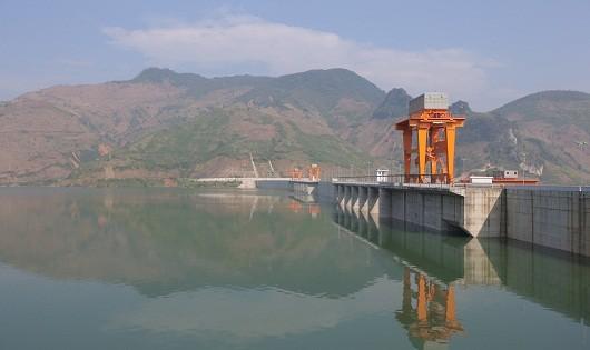 Hồ chứa nước của đập thủy điện Sơn La (Nguồn: Internet)