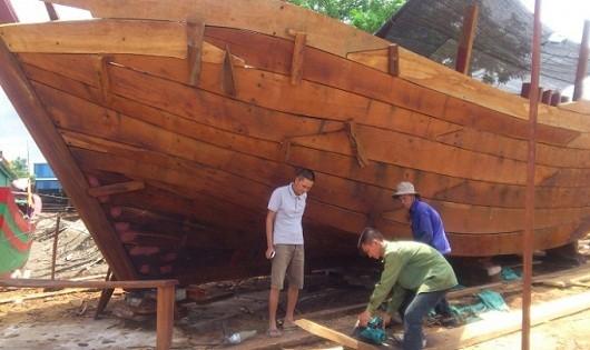 """Thương hiệu """"tàu ông Nhân"""" đã thân thuộc với nhiều người đi biển."""