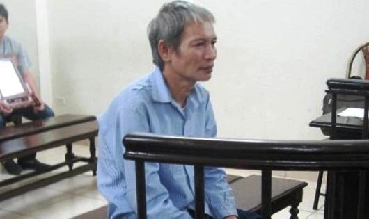 Bị cáo Hoàng tại tòa.