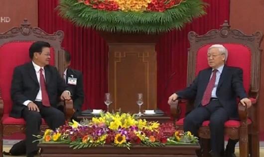 Quan hệ hữu nghị Việt - Lào là tài sản chung vô giá của hai dân tộc