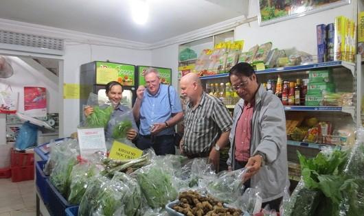 Hợp tác xã cung ứng thực phẩm an toàn.