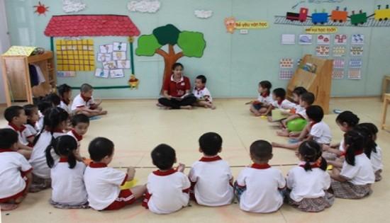 Hà Nội: Hơn 70 trẻ học một lớp mầm non