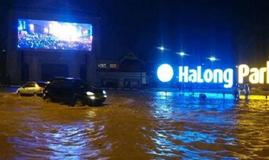 Quảng Ninh:  Mưa kéo dài, ngập lụt diện rộng khiến 2 người thương vong