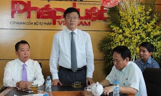 Ngành Tư pháp với Báo Pháp luật Việt Nam: Thêm tuổi mới,  thêm tin yêu, kỳ vọng