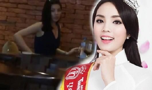 BTC cuộc thi Hoa hậu VN vào cuộc vụ Kỳ Duyên hút thuốc