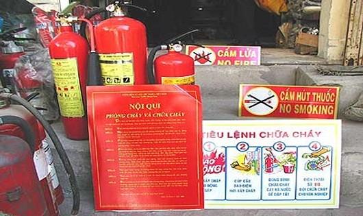Giả danh phòng cháy,  chữa cháy nhà nước hòng trục lợi