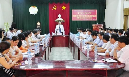 Tọa đàm về nâng cao hiệu quả công tác phổ biến, giáo dục pháp luật trên địa bàn tỉnh Đồng Nai.