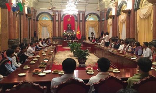 Phó Chủ tịch nước Đặng Thị Ngọc Thịnh tiếp đoàn đại biểu tỉnh Kon Tum