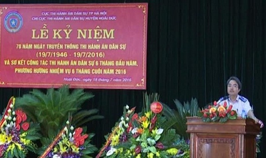 Huyện Hoài Đức, Hà Nội: Giao chỉ tiêu vận động đến chấp hành viên