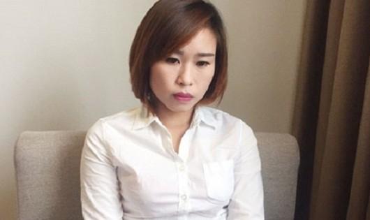 Nguyễn Thị Thanh Hợi khi bị bắt giữ (Ảnh CAND)