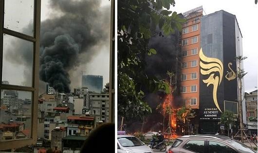 Toàn cảnh vụ hỏa hoạn kinh hoàng phố Trần Thái Tông