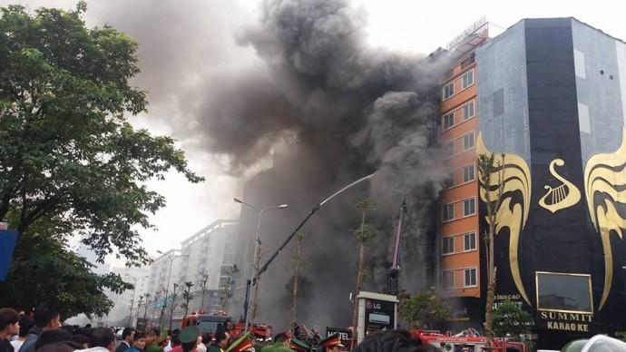 13 người tử vong: Quán karaoke bị cháy không đủ điều kiện kinh doanh