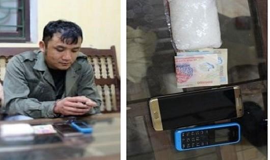 """Bắt đối tượng thuê taxi đi Hà Nội tiêu thụ ma túy đá"""""""