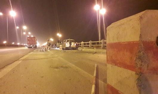 Nam sinh viên bị tai nạn rơi xuống chân cầu Thanh Trì là người con có hiếu