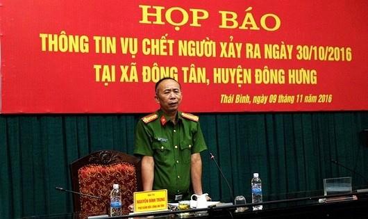 Không có hung thủ trong vụ người mẹ chở con đi xe SH tử vong ở Thái Bình