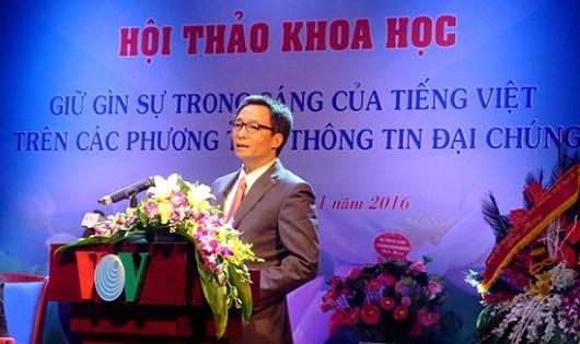 Vì sự trong sáng tiếng Việt