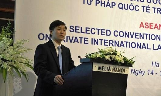 'Chung tay' xử lý các vấn đề  pháp luật và tư pháp của cộng đồng ASEAN