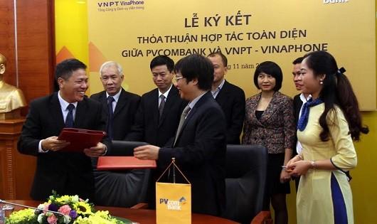 PVcomBank và VNPT - Vinaphone thỏa thuận hợp tác toàn diện