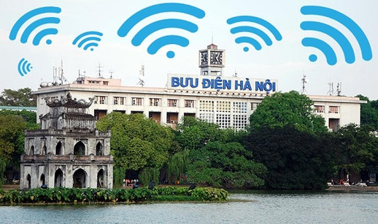 """Wifi free ở khu vực Hồ Gươm  có thật sự """"thần tốc"""" ?"""