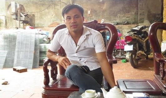 Phúc trò chuyện với phóng viên Báo Pháp luật Việt Nam.
