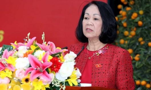 Bà Trương Thị Mai - Ảnh: TTXVN