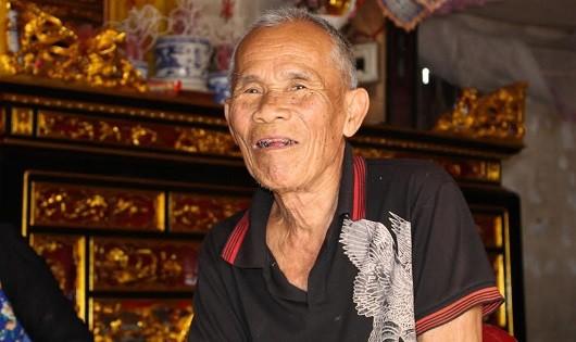 Nụ cười đã trở lại trên gương mặt của cụ Trần Văn Thêm - người mang thân phận bị can 46 năm