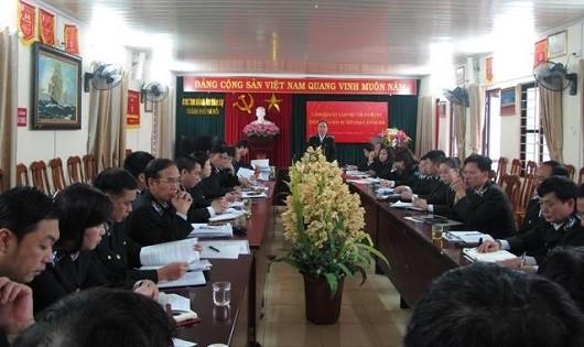 Hà Nội: Lãnh đạo Cục THADS làm việc với 23 Chi cục