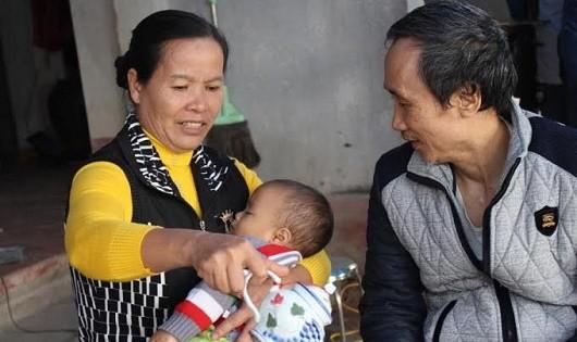 Ông Hàn Đức Long đã được trở về đoàn tụ cùng gia đình sau hơn 11 năm oan ức.