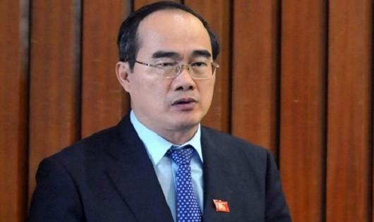 Chủ tịch UBTƯ MTTQ Việt Nam Nguyễn Thiện Nhân.