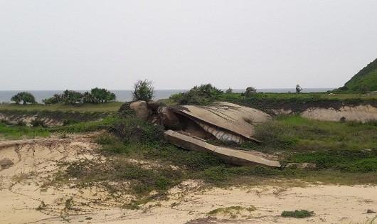 Tàn phá không thương tiếc hàng chục ha rừng phòng hộ đảo Quan Lạn