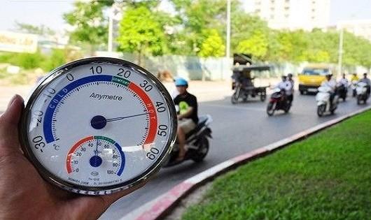 Hà Nội vẫn tiếp tục nắng nóng, có nơi hơn 40 độ C