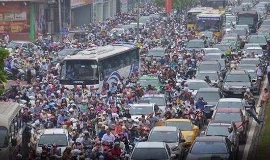 Hà Nội xem xét cấm xe máy vào nội đô từ năm 2030