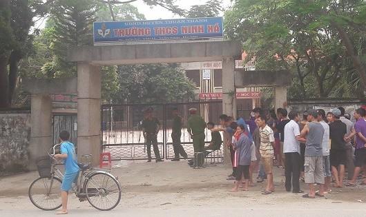 Bắc Ninh: Nghi vấn bảo vệ trường THCS Ninh Xá bị sát hại dã man