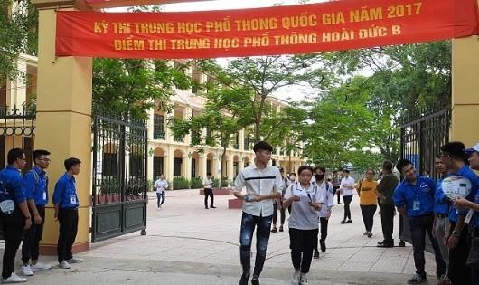 Thi THPT Quốc gia: 49 thí sinh bị đình chỉ thi trong ngày đầu