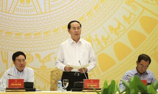 Chủ tịch nước: Tuần lễ Cấp cao APEC cần góp phần nâng cao uy tín Việt Nam