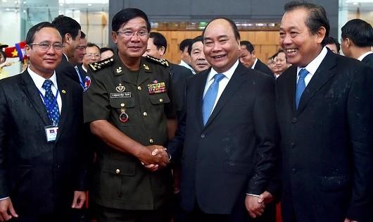 Thúc đẩy quan hệ hợp tác Việt Nam - Campuchia