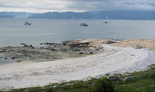 Một góc Khu bảo tồn biển Hòn Cau