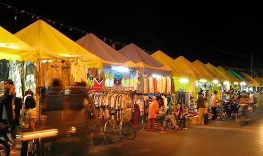 Chợ đêm Hà Tiên, hiện trường vụ án.