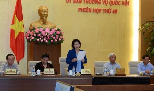 Ủy ban Thường vụ Quốc hội sẽ khai mạc các phiên họp vào ngày 10 hàng tháng