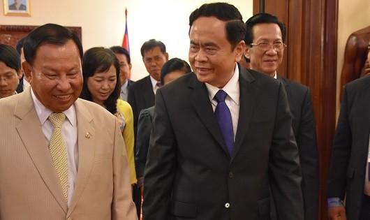 Lạc quan về hợp tác Việt Nam - Campuchia