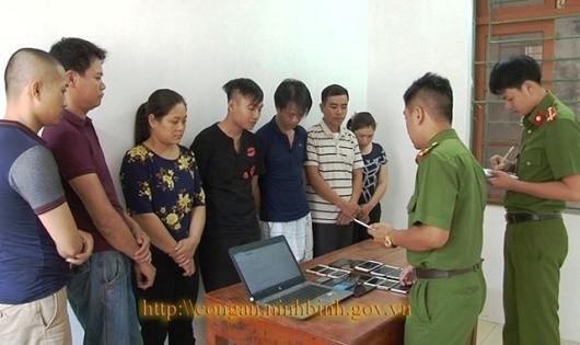 """Ninh Bình: Lộ diện đường dây cờ bạc """"liên kết"""" nước ngoài"""