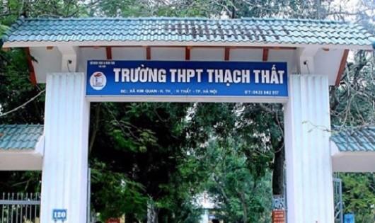 Đi diễn tập, học sinh trường THPT Thạch Thất bị cán bộ Trung tâm đánh chảy máu