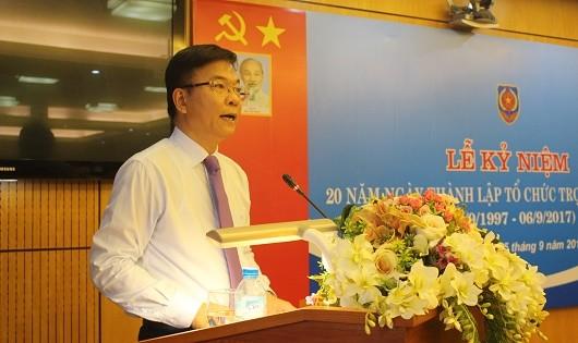 Bộ trưởng Lê Thành Long phát biểu tại lễ kỷ niệm.