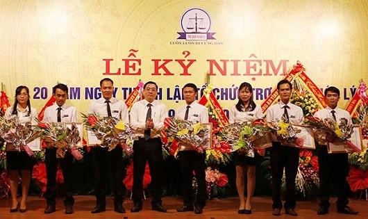 Trung tâmTrợ giúp pháp lý tỉnh Thanh Hóa kỷ niệm 20 năm.