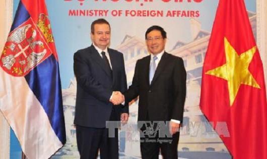 Tăng cường, mở rộng hợp tác Việt Nam – Serbia