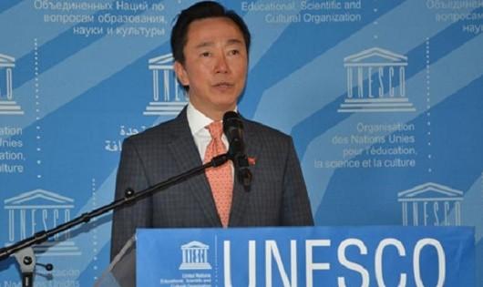 Đại sứ Phạm Sanh Châu của Việt Nam là 1 trong 8 ứng cử viên cho chiếc ghế Tổng giám đốc UNESCO. (Ảnh: TTXVN)