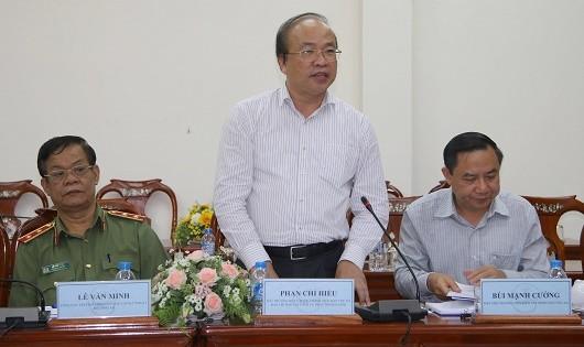 Thứ trưởng Phan Chí Hiếu đánh giá cao việc quan tâm thực hiện của TP Cần Thơ trong công tác CCTP.